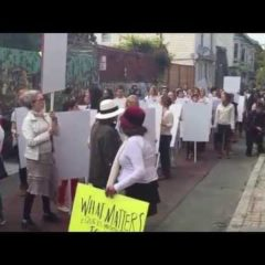 What Matter to Us: Reenactment of Anna Halprin's Blank Placard Dance